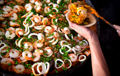 Check out our paella!